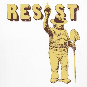 Smokey Bear Says Resist Tee Shirt - Crewneck Sweatshirt