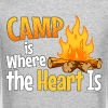 Camp is Where the Heart is - Crewneck Sweatshirt