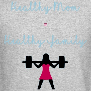 healthy mom - Crewneck Sweatshirt