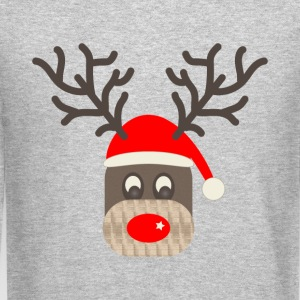Red Nose Reindeer - Crewneck Sweatshirt