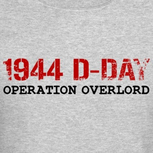 1944 D-Day Operation Overlord (Red) - Crewneck Sweatshirt