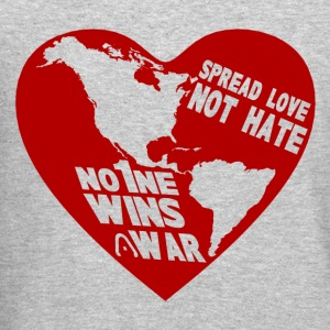 HEART the WORLD (NO MORE WAR) - Crewneck Sweatshirt