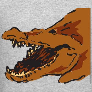 Alligators Brown Mouth Opened 46044 - Crewneck Sweatshirt