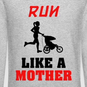 Run like a mother - Crewneck Sweatshirt
