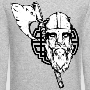 Viking with axe - Crewneck Sweatshirt