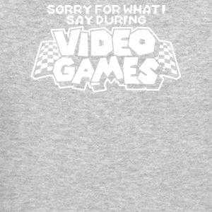 Sorry Video Games - Crewneck Sweatshirt