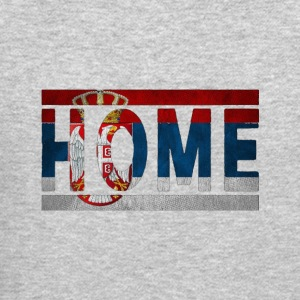 Serbia Home Retro Flag Vintage Design - Crewneck Sweatshirt
