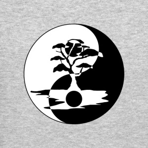 Bonsai Tree in Yin Yang - Crewneck Sweatshirt