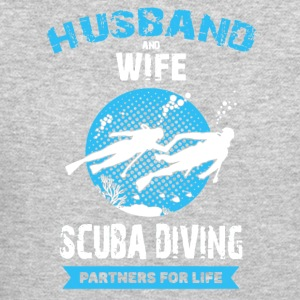 Husband And Wife Scuba Diving Partners Shirts - Crewneck Sweatshirt