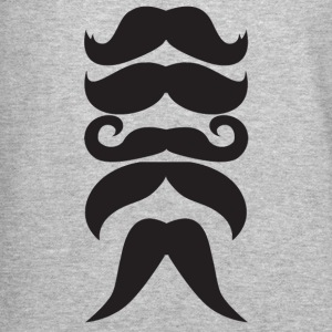 More mustache - Crewneck Sweatshirt