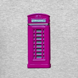 phone booth purple - Crewneck Sweatshirt
