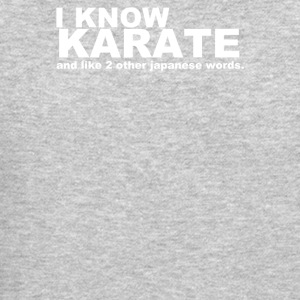 I Know Karate - Crewneck Sweatshirt