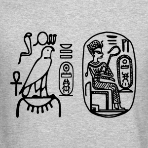 Egyptian Seals Thutmosis Ancient Egypt Hieroglyph - Crewneck Sweatshirt