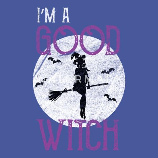 I m a good witch Halloween Unisex Crewneck Sweatshirt