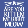 Are You Kitten Me Right Meow - Crewneck Sweatshirt