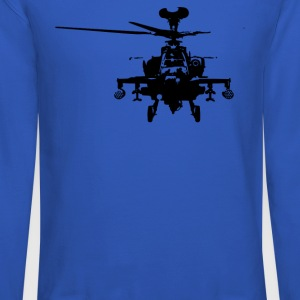 Military Attach Helicopter Gunship - Crewneck Sweatshirt