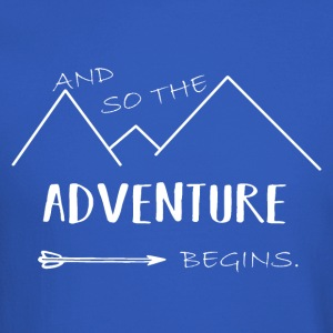 And so the adventure begin! - Crewneck Sweatshirt