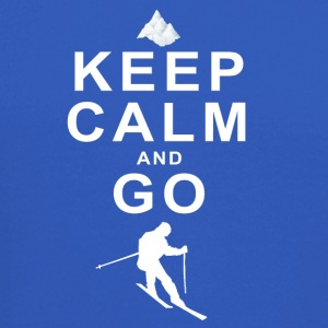 Keep Calm and go skiing - Crewneck Sweatshirt