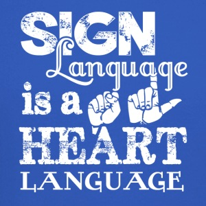 New Sign Language Shirt - Crewneck Sweatshirt