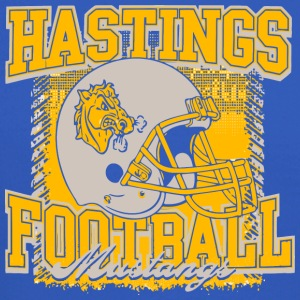 Hastings Football Mustangs - Crewneck Sweatshirt
