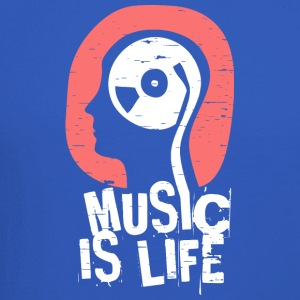 Music is life - Crewneck Sweatshirt