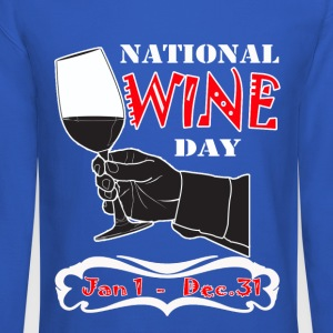National wine day - Crewneck Sweatshirt