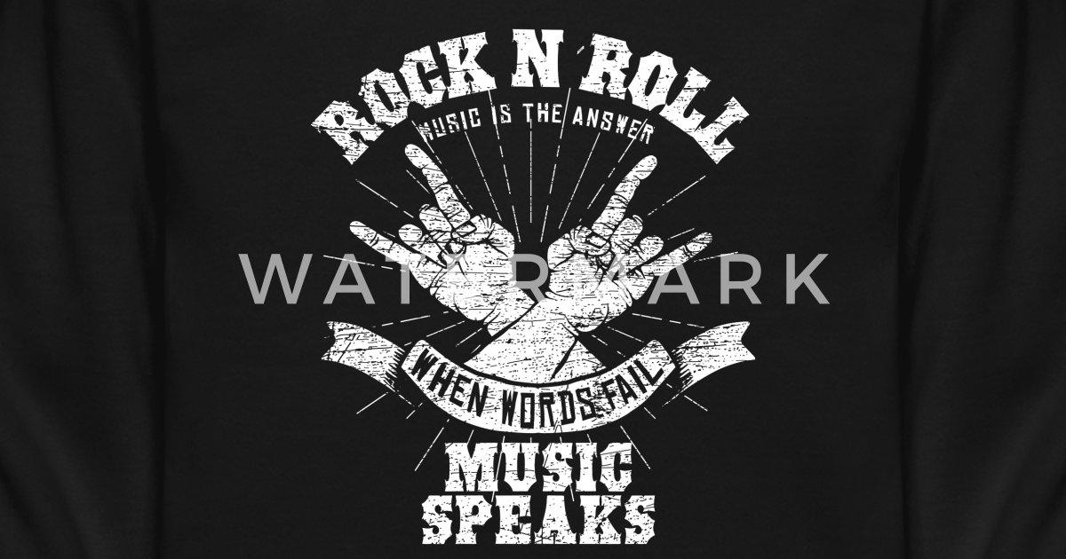 2113b4c6 Rock n´ roll gift music therapy Unisex Crewneck Sweatshirt | Spreadshirt