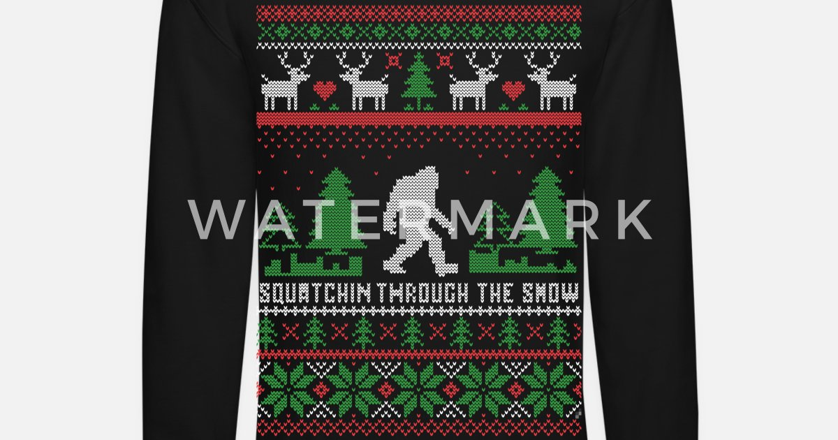 Squatchin Through Snow By Personalized Spreadshirt