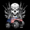 Monster Patriot Escalade - Crewneck Sweatshirt
