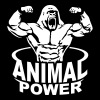 Animal power - Crewneck Sweatshirt