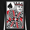 King of Spades Vector - Crewneck Sweatshirt