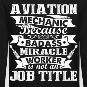 Aviation Mechanic Shirt - Crewneck Sweatshirt