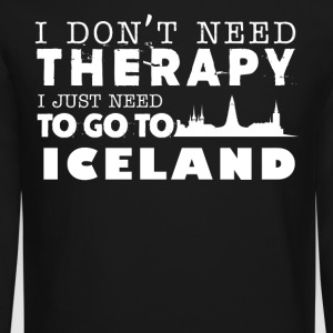 Iceland Therapy Shirt - Crewneck Sweatshirt