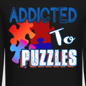 ADDICTED TO PUZZLE SHIRT - Crewneck Sweatshirt
