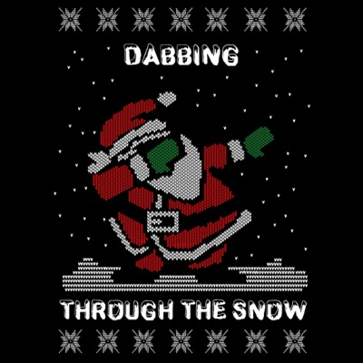 Dab Santa Dabbing Ugly Christmas Sweater