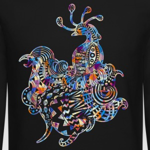 Peacock Tee Shirt - Crewneck Sweatshirt