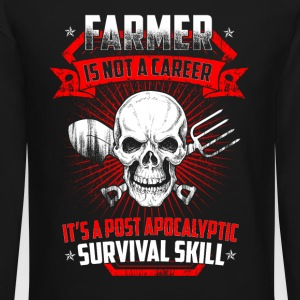 Farmer is not a career T Shirts - Crewneck Sweatshirt