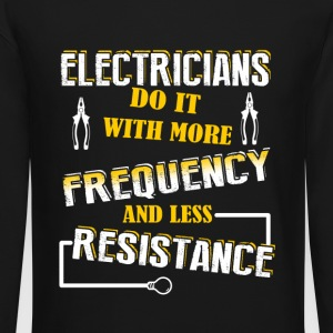 Electricians Do It With More - Crewneck Sweatshirt