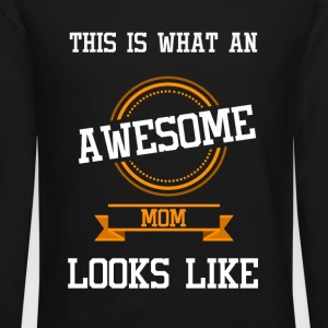 Awesome mom - Crewneck Sweatshirt