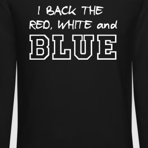 I back the red white and blue - Crewneck Sweatshirt