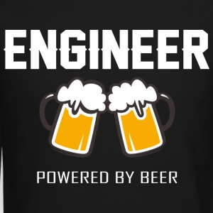 Engineer powered by beer T Shirt - Crewneck Sweatshirt