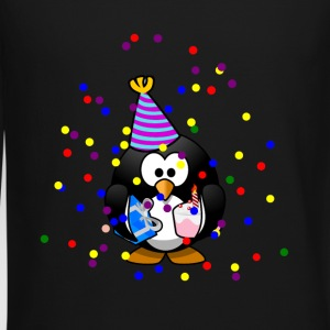 Party Penguin Confetti Celebration - Crewneck Sweatshirt