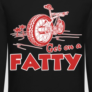 Fat Bike Shirt - Crewneck Sweatshirt