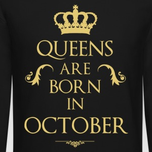 Queens are born in October - Crewneck Sweatshirt