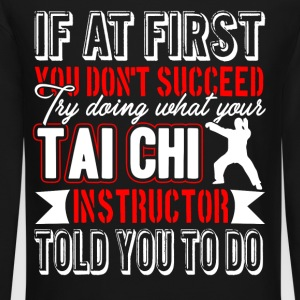 Tai Chi Instructor Shirt - Crewneck Sweatshirt