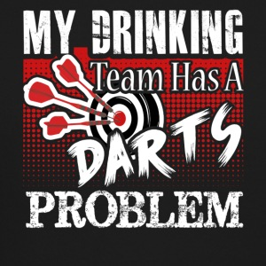Darts T shirt My Drinking Team - Crewneck Sweatshirt