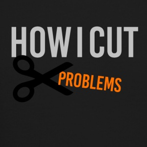 How I cut problems - Crewneck Sweatshirt