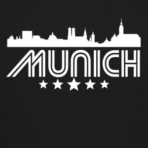 Retro Munich Skyline - Crewneck Sweatshirt