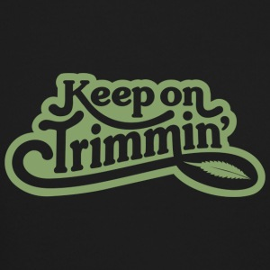 keepontrimming_green - Crewneck Sweatshirt