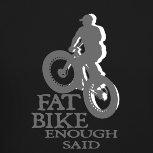 FAT BIKE TSHIRT - Crewneck Sweatshirt